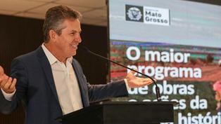 """Governador: """"Nenhum Estado Brasileiro tem o volume de obras e investimentos que MT está fazendo"""""""