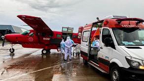 Outras duas pacientes de Rondônia chegam a MT e são internadas na UTI do Hospital Metropolitano