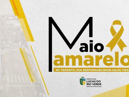 """""""Maio Amarelo"""": Prefeitura cria projeto de conscientização no trânsito luverdense"""