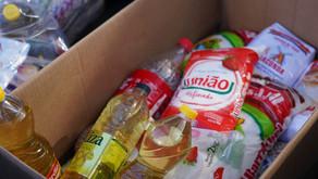 Campanha Vacina Solidária registra arrecadação de mais de 2,3 toneladas de alimentos