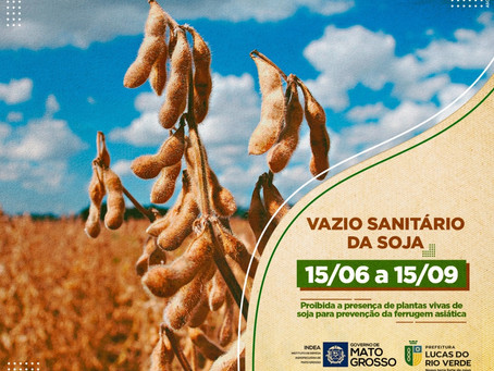 Secretaria de Agricultura e Meio Ambiente alerta para início do vazio sanitário nesta terça-feira