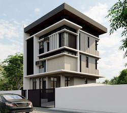 3 storey house in Morningfields Calamba Laguna