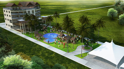 Hotel & Pool area