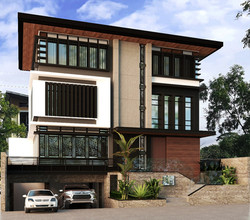 Proposed 3 storey house Mckinley West Taguig City