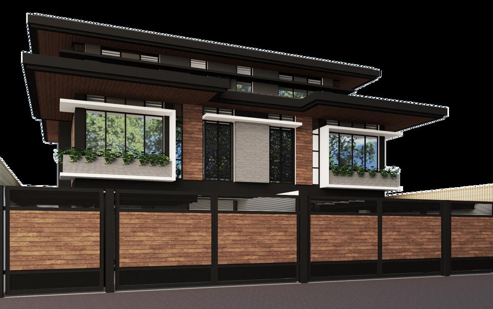 Belair Makati Duplex house by Arch Joseph C Chua, LRA