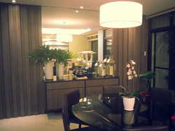 Formal Dining Console area