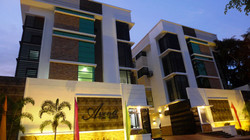 Aventi Townhomes at Dusk