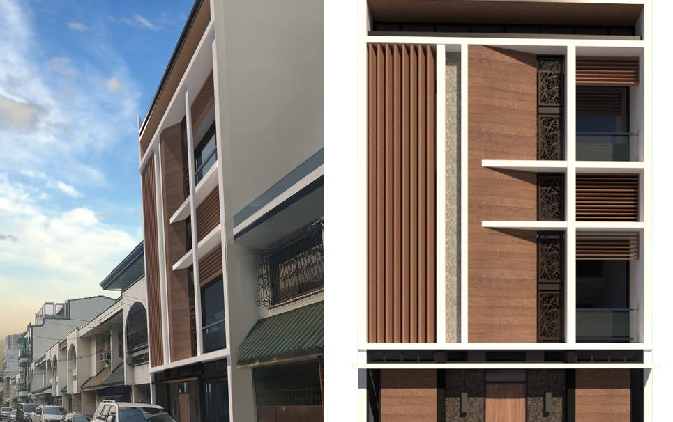 Townhouse renovation by Arch Joseph C. Chua