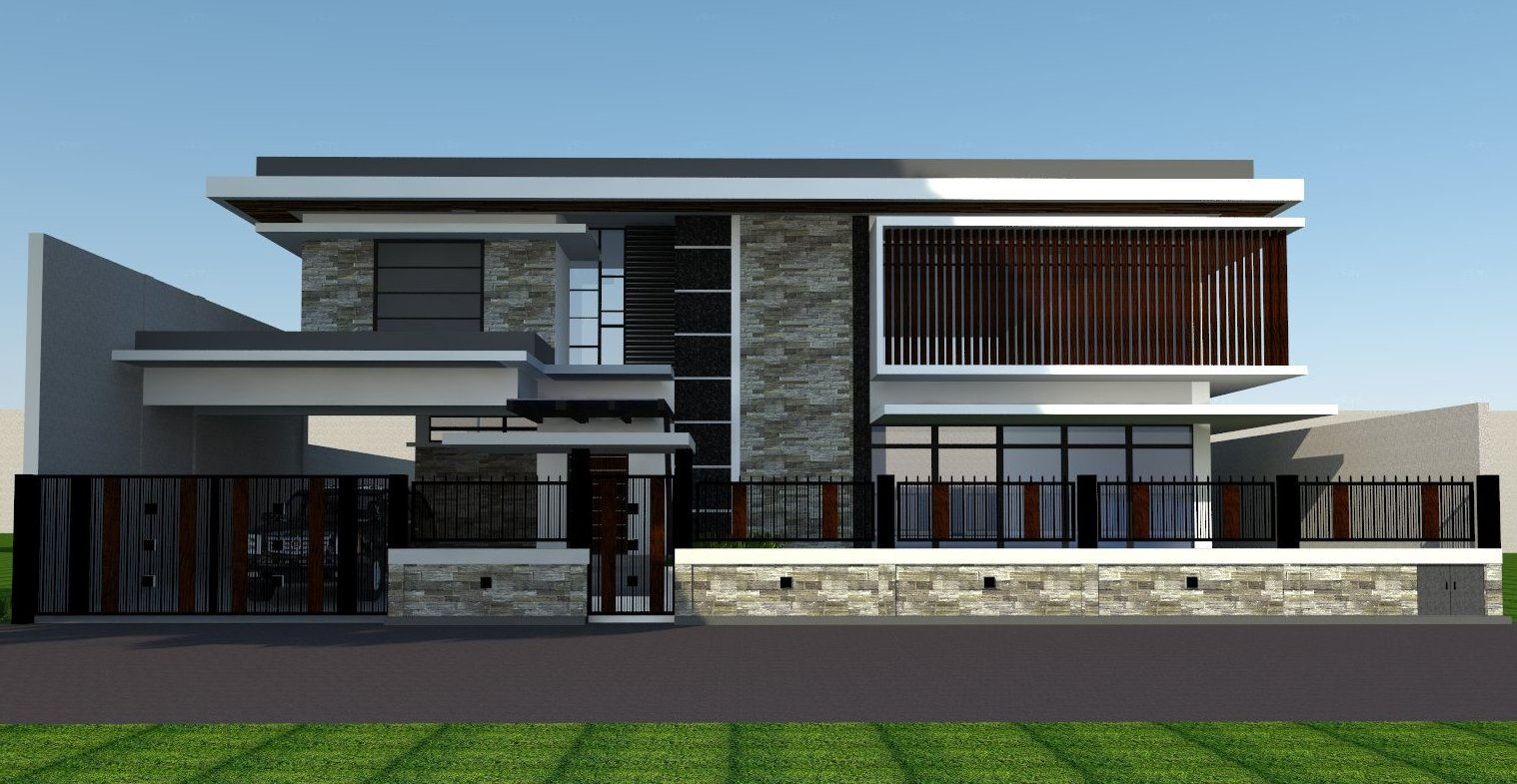 Loyola Grand Villa 2 storey house