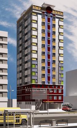 12 storey office residential condo