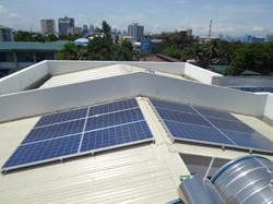 Aventi Townhomes Solar Panels