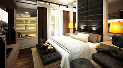 Masters Bedroom of Aventi Townhomes