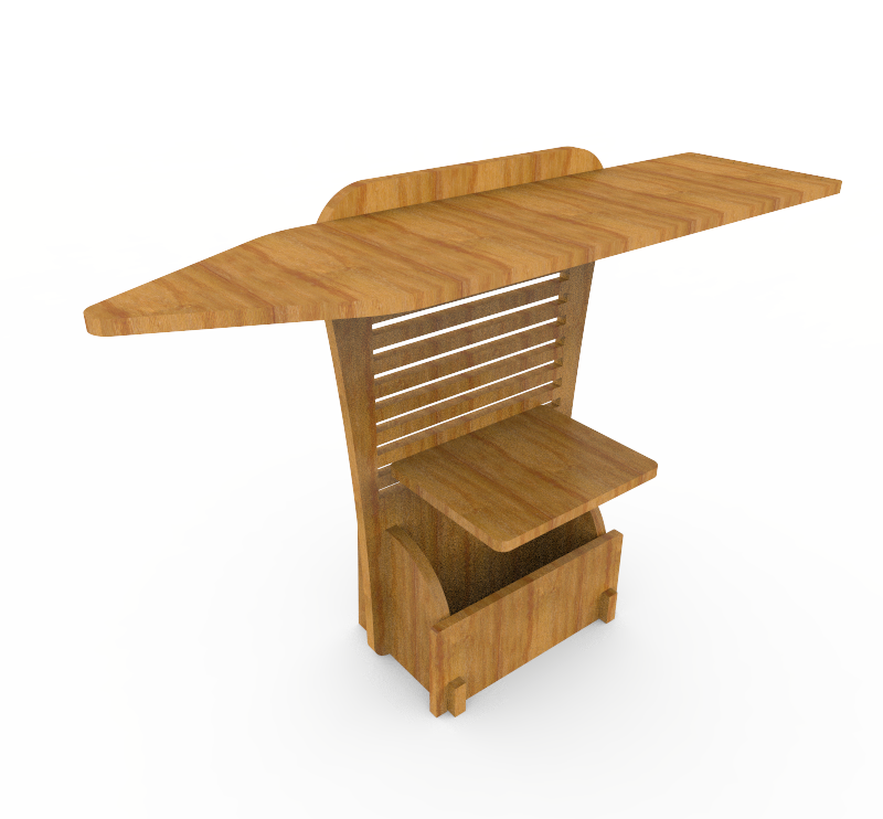Iron Box Stand - HID (Hang Iron Dump