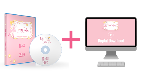 Tiny Tutus 2019 Recital Blu-ray + Digital Download Combo