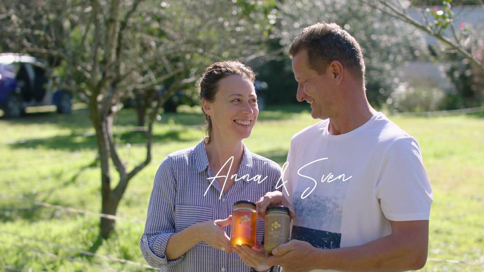 Putting a Face to Farming - Amber Drop Honey