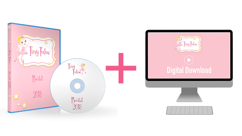 Tiny Tutus 2018 Recital Blu-ray + Digital Download Combo