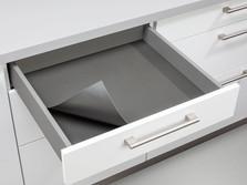 Drawer with anti-slip mat