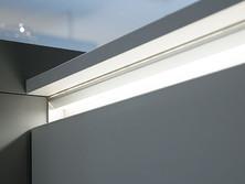 Illuminated LED grip ledge
