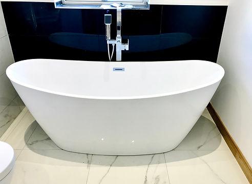 freestanding bathtub design installation