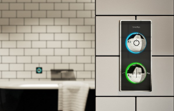 Smartap smartphone technology to control your shower and bath