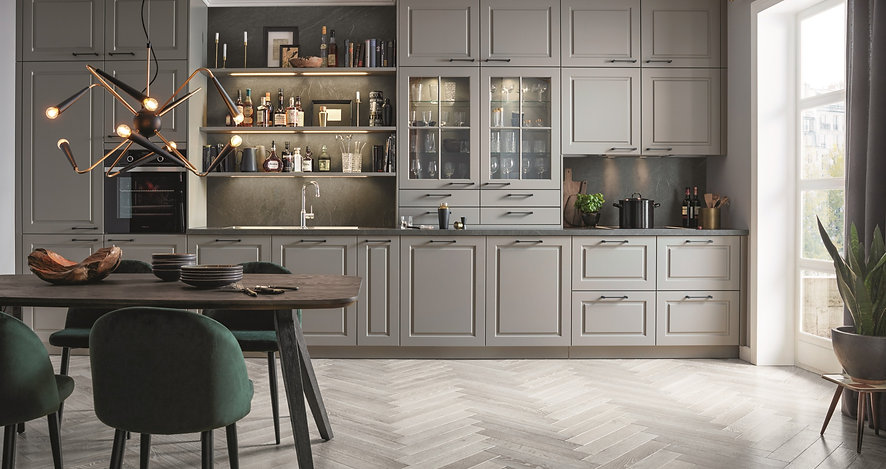 modern schuller kitchen designed and installed by Bathroom & Kitchen Planet Stirling