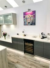 kitchen design wine cooler