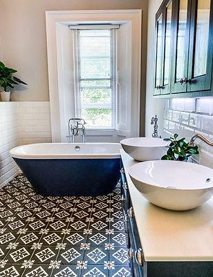 freestanding bathtub family bathroom design