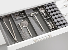 Cutlery and spice insert