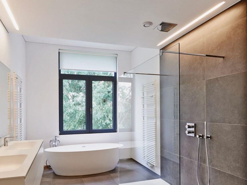 luxury modern bathroom in-ceiling bluetooth music speaker