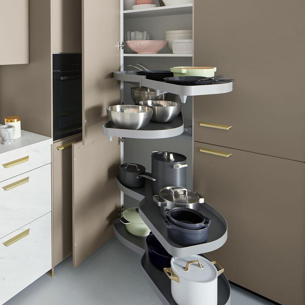 Schüller C-Slide pull out storage ideal for extra kitchen storage