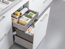 2-part waste sorting with drawer