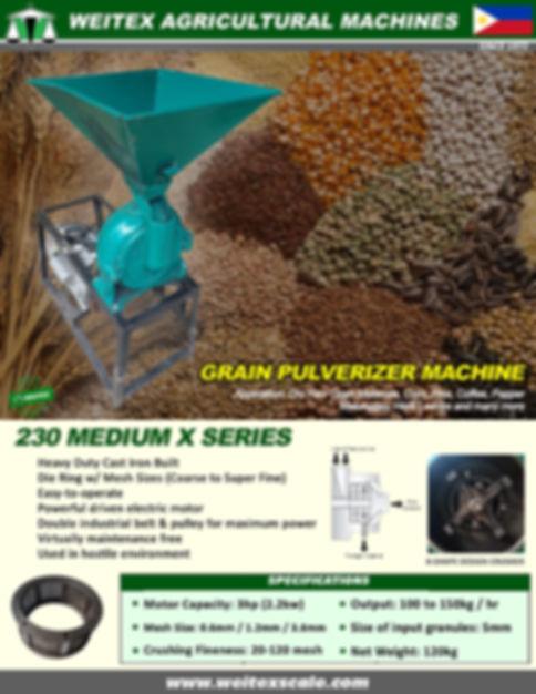 2020 Pulverizing Machine Medium Pic Fina