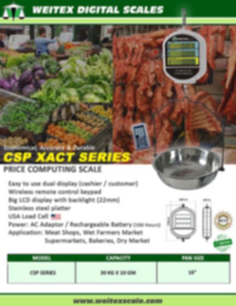2020 CSP Xact Supended Price Computing P