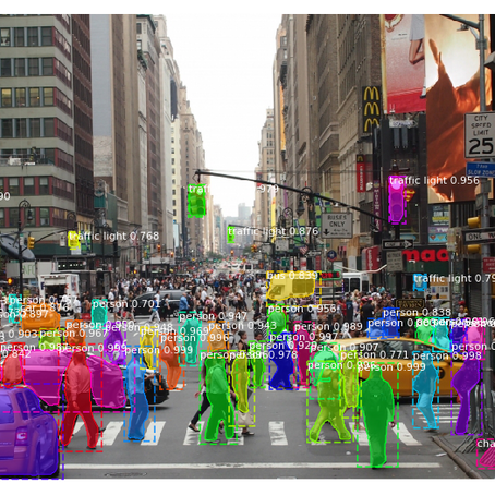 Object Detection with Mask-R-CNN