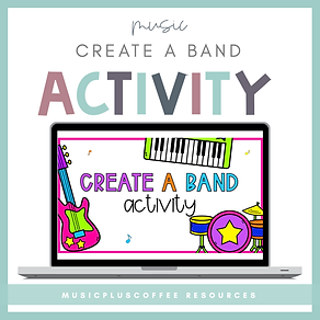 Create A Band Activity - Square Preview.