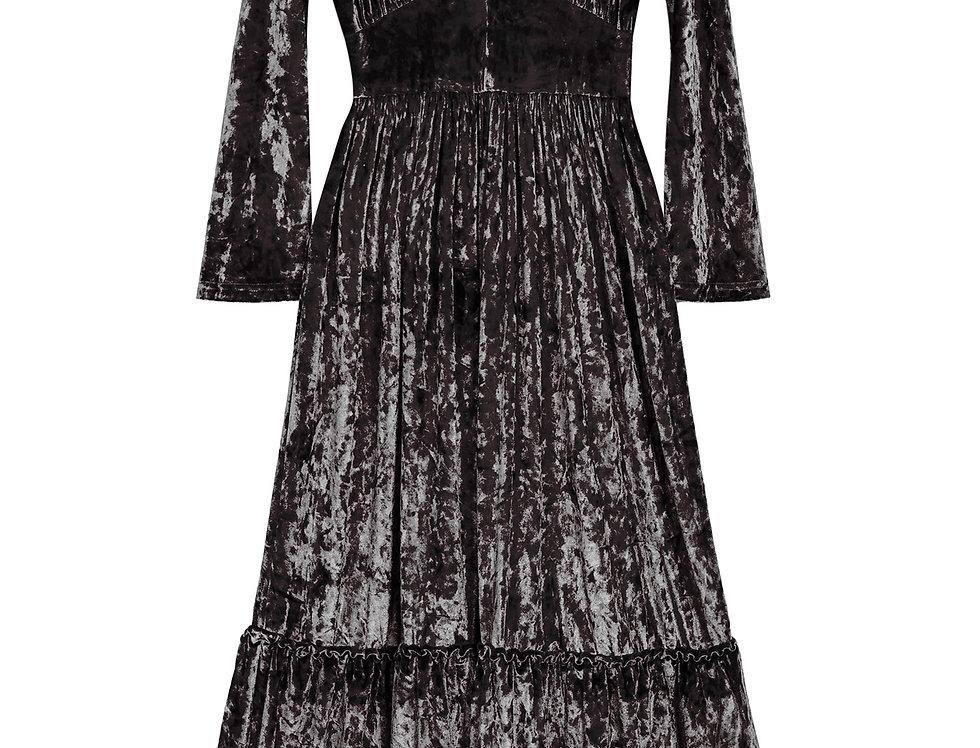 Show Velvet Dress Midnight Black