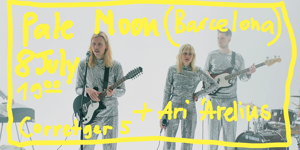Pale Moon 8th June – Concert in Barcelona, Born