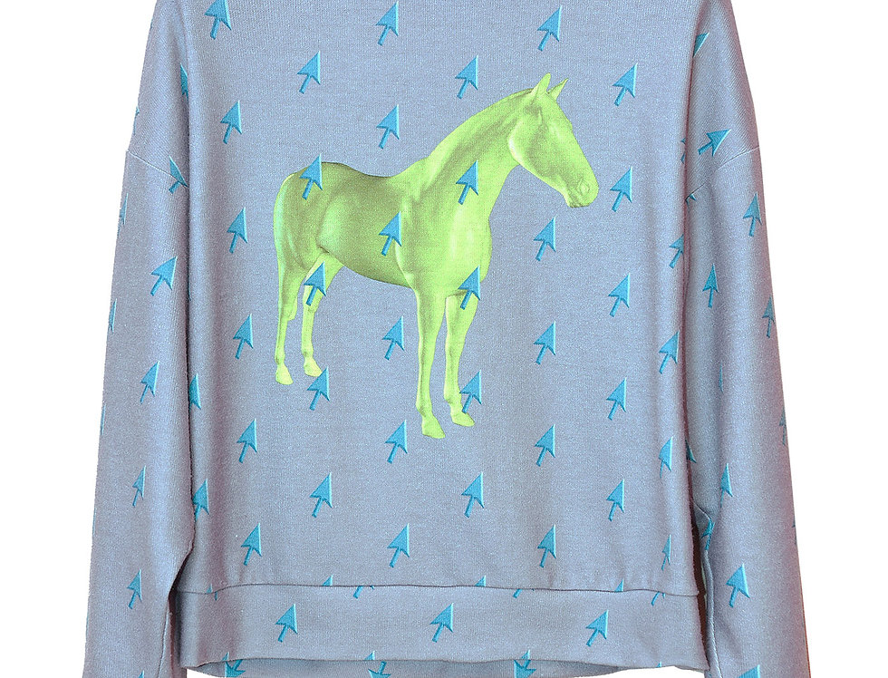 Horse&Mouse Hoodie