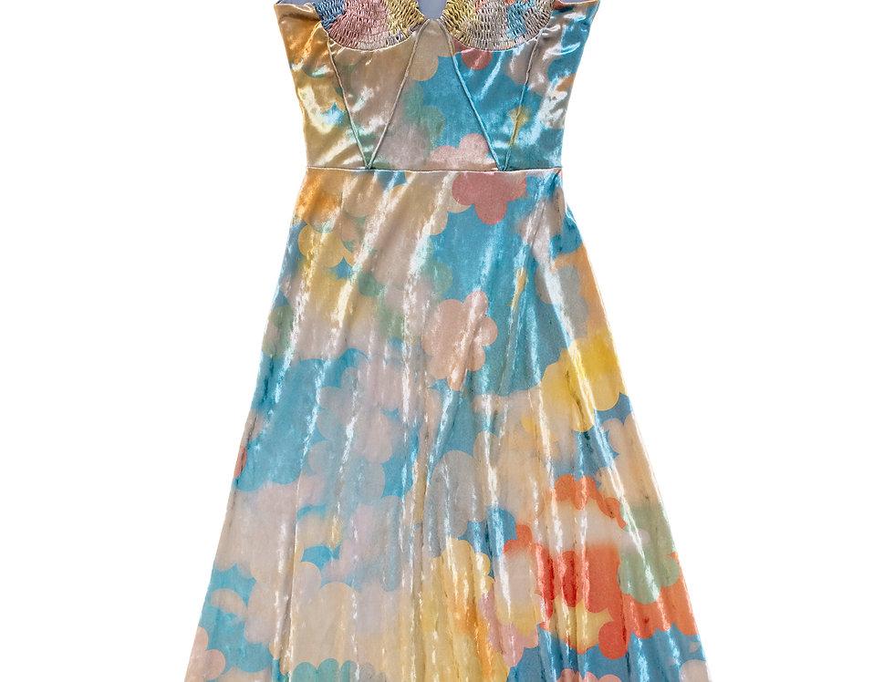 Velvet Cloud Dress (pre-order)