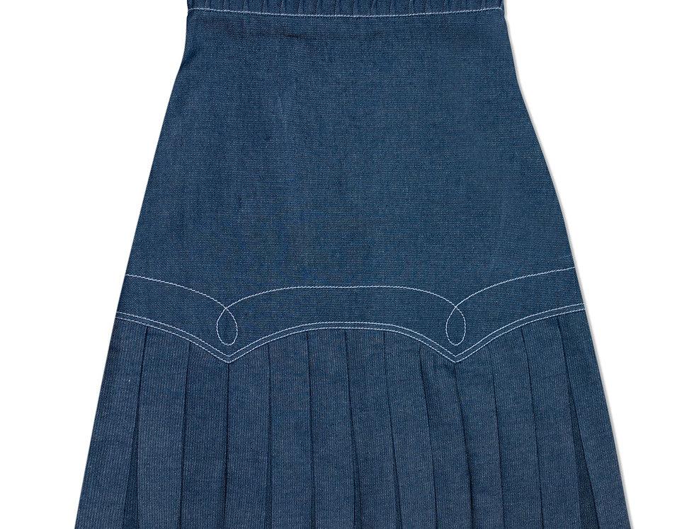 Top Stitch Skirt