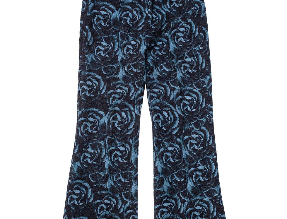 Blue Roses Pants