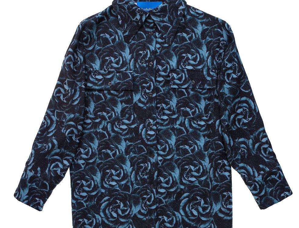 Blue Roses Shirt