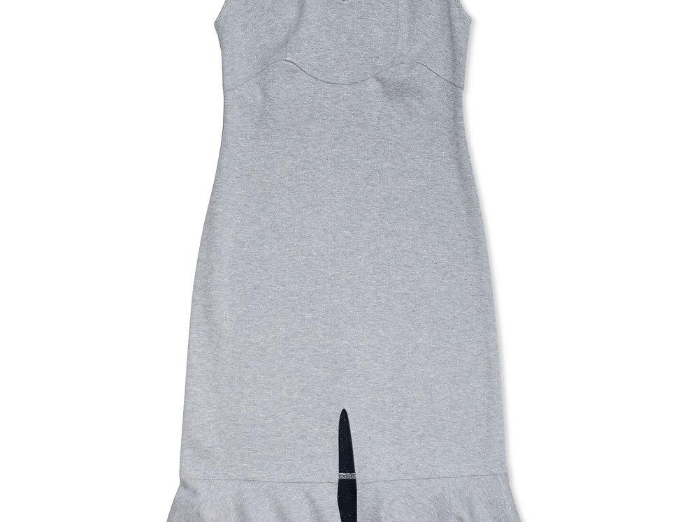 Silver Jersey Dress
