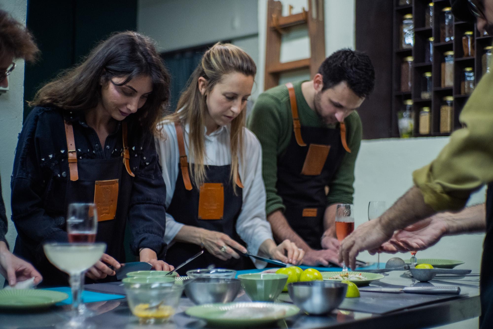 workshop cocina