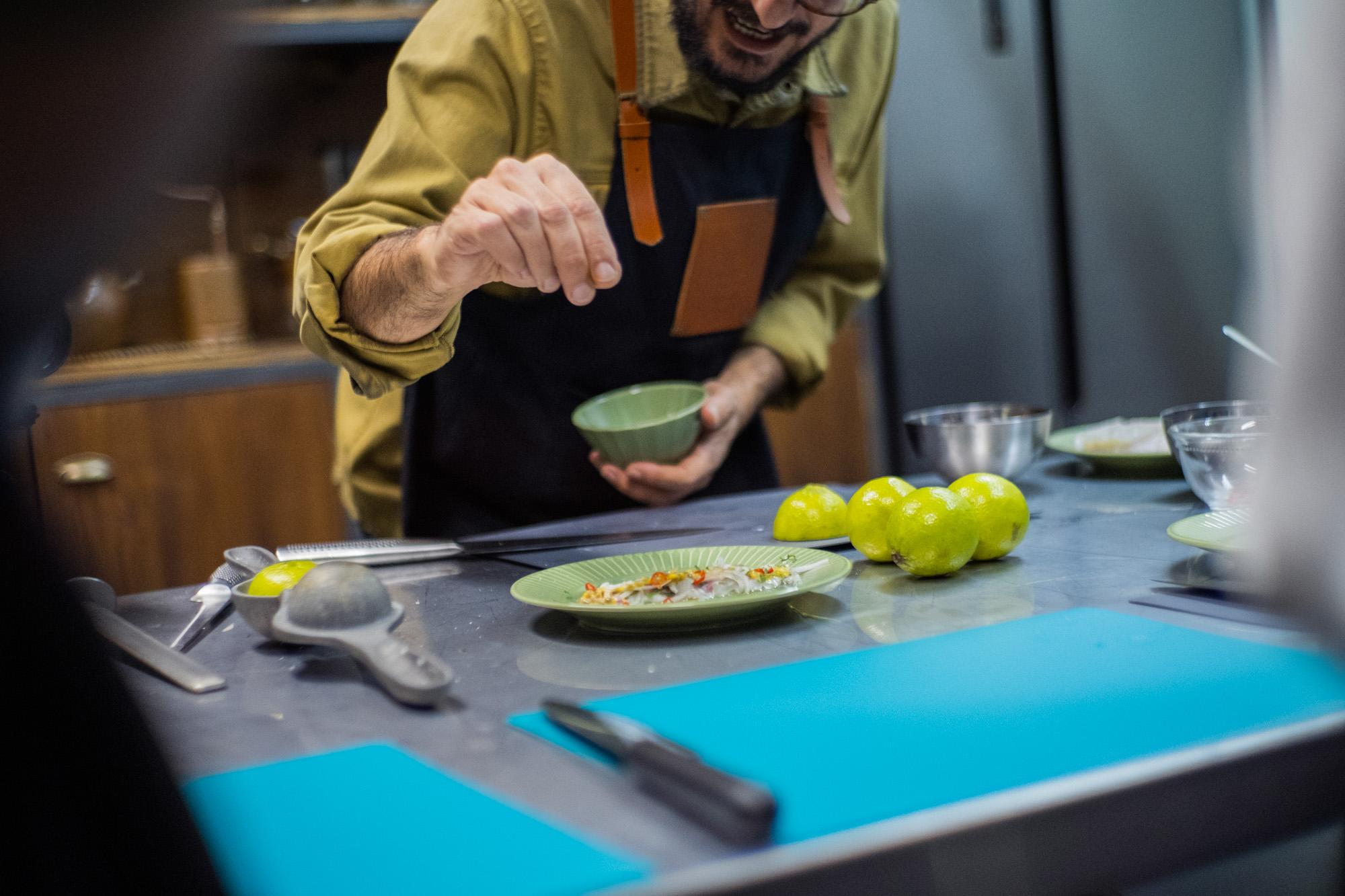 Workshop cocina y cocteles