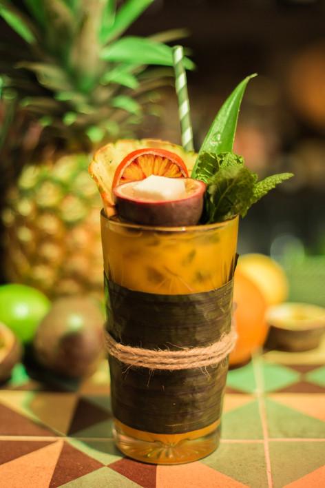 Cocktail tiki