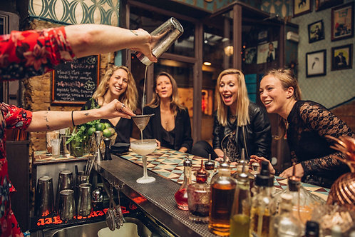 Cocktail Making Class x 4 personas