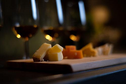 Cata de Whisky maridaje con quesos x 4
