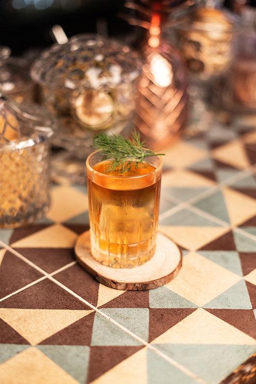 Oro & Cabras (2 cocktails)