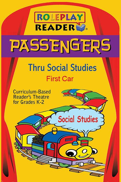 Passengers Thru Social Studies (K-2) (18 Books) - $74